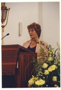 Denise na svatbě svých německých přátel, Mnichov 2009