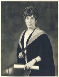 Denise, promoce na univerzitě, 1969