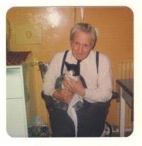 Bob s kočkou, na chalupě, Tain 1979