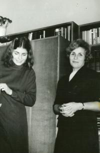 Anna Tesařová with her daughter Marcela 20 years ago