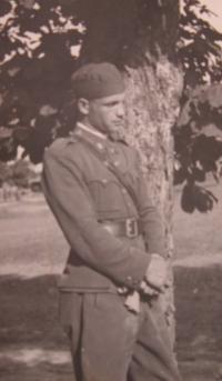 Father Ladislav Prokeš as ranger