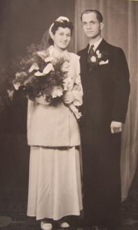 Wedding parent October 26, 1940