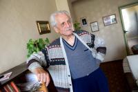 Dimitrij Lupej in his flat