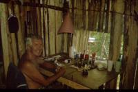 Richard Barvínek in his office in Belize