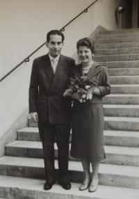 Svatební fotografie, 1959