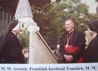 Kardinál Tomášek na Lomci