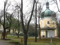 Lomec - kostel - dnes