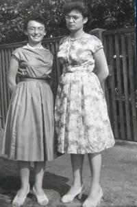 Zdena and Eva