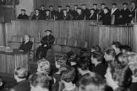the graduation in 1961