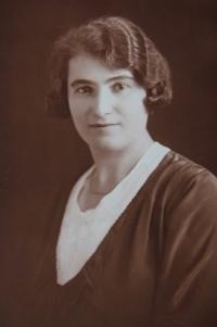 Zdena's mother, Marie Beranova