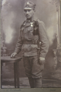 Zdena's father Robert Faltus