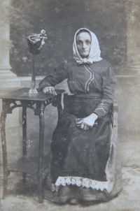 1916 - grandmother Beranová
