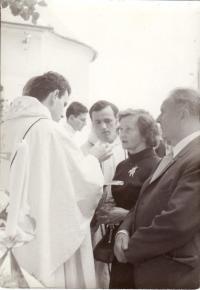 First Mass, 1970