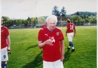 Vladimír Beneš hrající fotbal; 2010