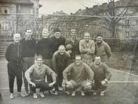 Tradiční volejbal na Štědrý den 1966