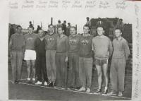 Volejbaloví veteráni z Plzně; 1958
