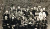 Volejbalové družstvo VPK Radbuza (1942)