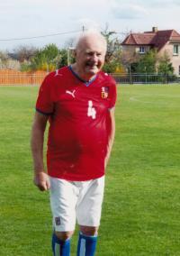 Vladimír v reprezentačním dresu (2005)
