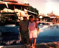 František and Jiřina Gabčo on a holiday in Bulgaria, end of 1990s