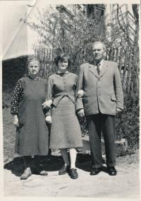 Petr Kopecký´s great-grandmother, aunt and great-grandfather