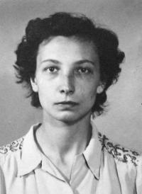 A portrait of Havlůjová