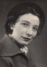 Graduating from Drtina Grammar School in 1948