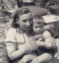 After her release from prison in March 1955