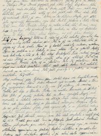 Letter to prison, 18 October 1954