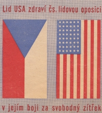 Leaflet spread by the Human Rights League in spring 1949