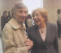 With Jana Kánská, Milada Horáková´s daughter in 2011