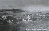 Defunct settlement Štolnava (Prameny, Stollenhau in German), where Ignác Žerníček served during the war