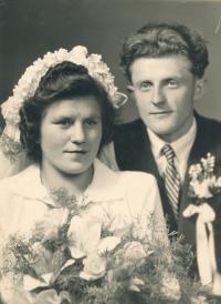 Ignác Žerníček's wedding photo