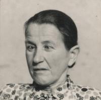 Ignác Žerníček's mother - Terezie (born 1902)