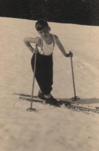1946, Krkonoše, pamětník