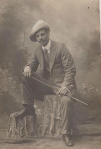 Stanislav's father Stanislav Švarc