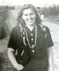 Hilda Hönigsbergová, twin sister of Renata (Hana)