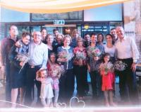 Shoshana's 90th birthday in January 2015 and the family reunion