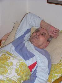 Luboš Hruška doma v Plzni, 30. května 2006 II