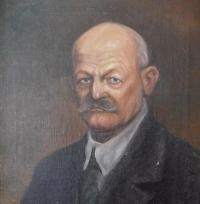 An image of the father Josef Drozd