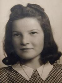 Marie Čuboková (Drozdová) - 1946