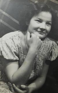 Marie Čuboková (Drozdová) - 1956