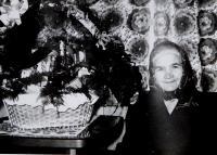 Mother Kateřina Drozdová ninety years old