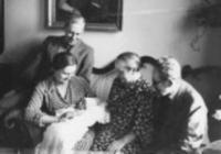Křtiny malého Jana v květnu 1936