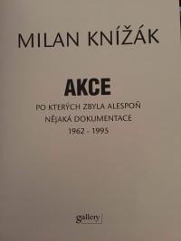 Title page of the book Akce
