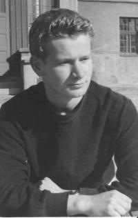 Rudolf Felzmann jako kantor v polepšovně (Chrastava, 1959)