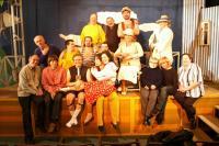 Městské divadlo Mladá Boleslav. Po generálce představení V. Vančura / R. Felzmann: Rozmarné léto (premiéra 2007)