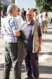 Jiráskův Hronov. Rudolf Felzmann a prof. František Laurin jako lektoři semináře (2007)