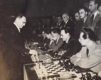 Vaclav Danek (on the right) playing chass