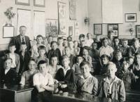 in elementary school