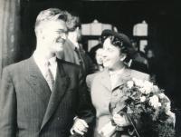 Svatba Olgy Raisové a Vladimíra Fialy (1949)